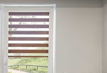Faux Wood Blinds, Bostonia